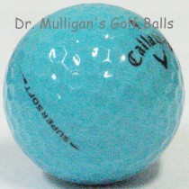 Callaway Supersoft Blue Mint Used Golf Balls