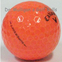 Callaway Supersoft Orange Mint Used Golf Balls