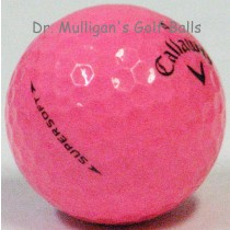 Callaway Supersoft Pink Mint Used Golf Balls