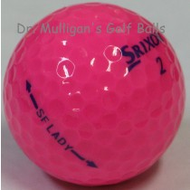 Srixon Soft Feel Lady Passion Pink Mint Used Golf Balls