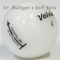 Volvik Crystal 3 Piece White Mint Used Golf Balls