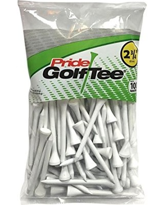"100 Count Bag 2 3/4"" Golf Tees"