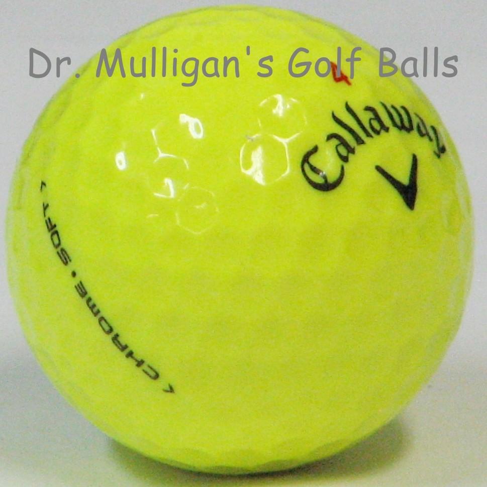Callaway Chrome Soft Yellow Mint