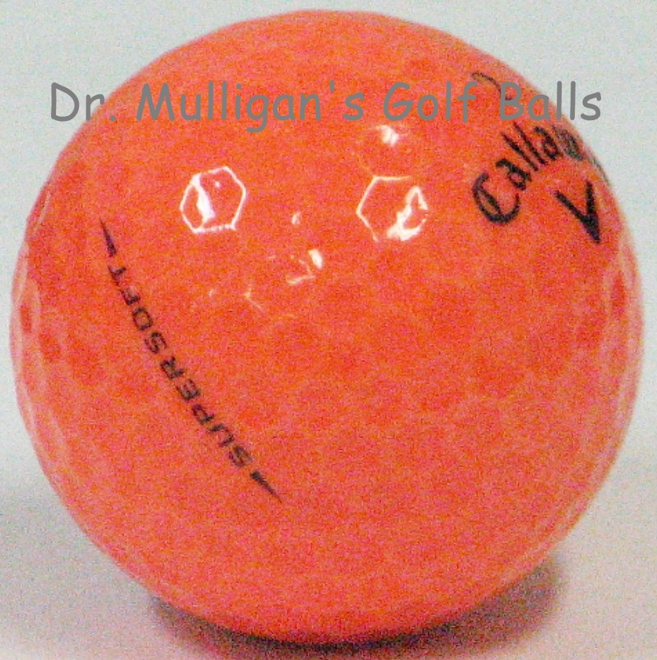 Callaway Supersoft Orange Mint