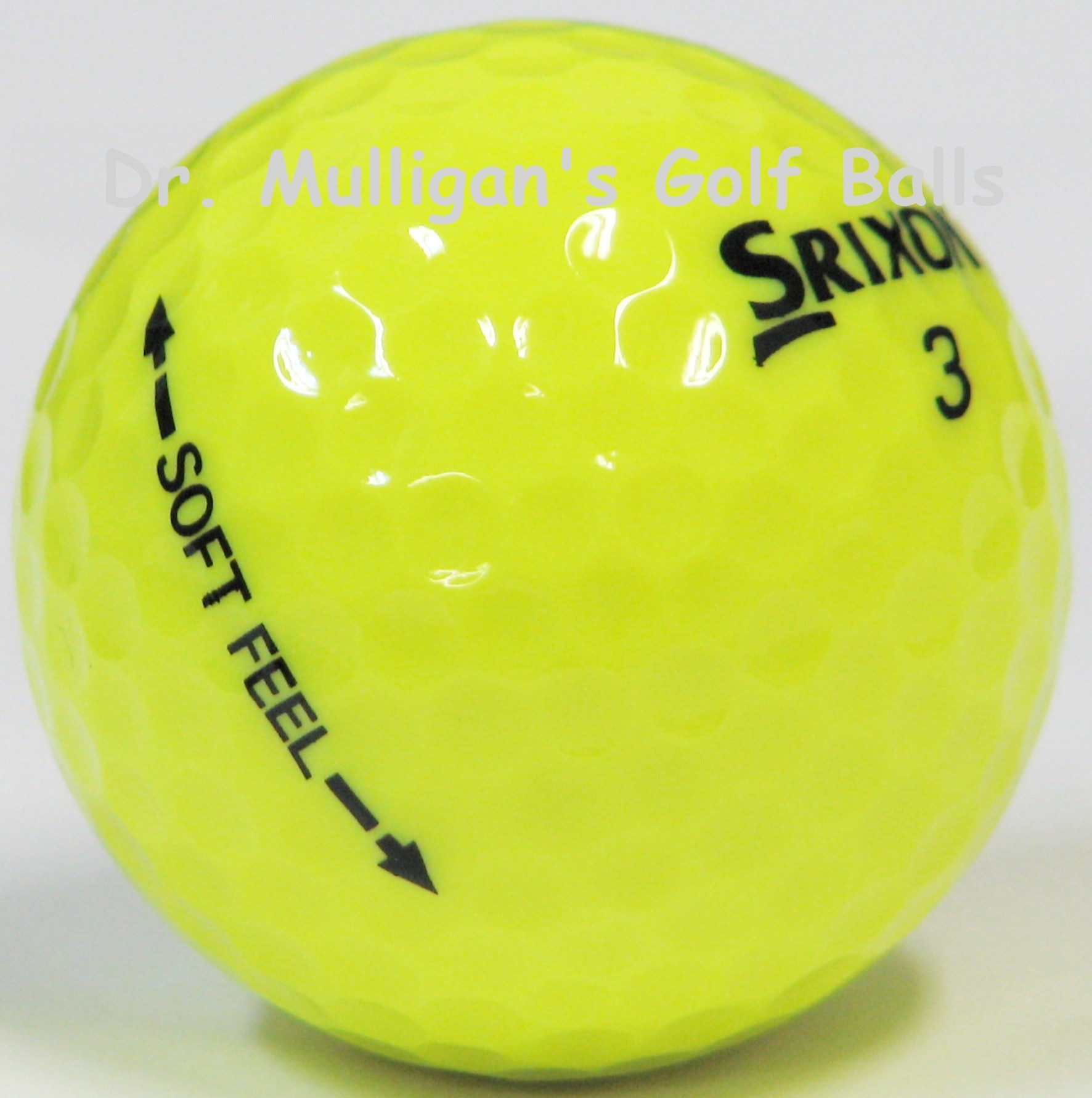 Srixon Soft Feel Yellow Mint