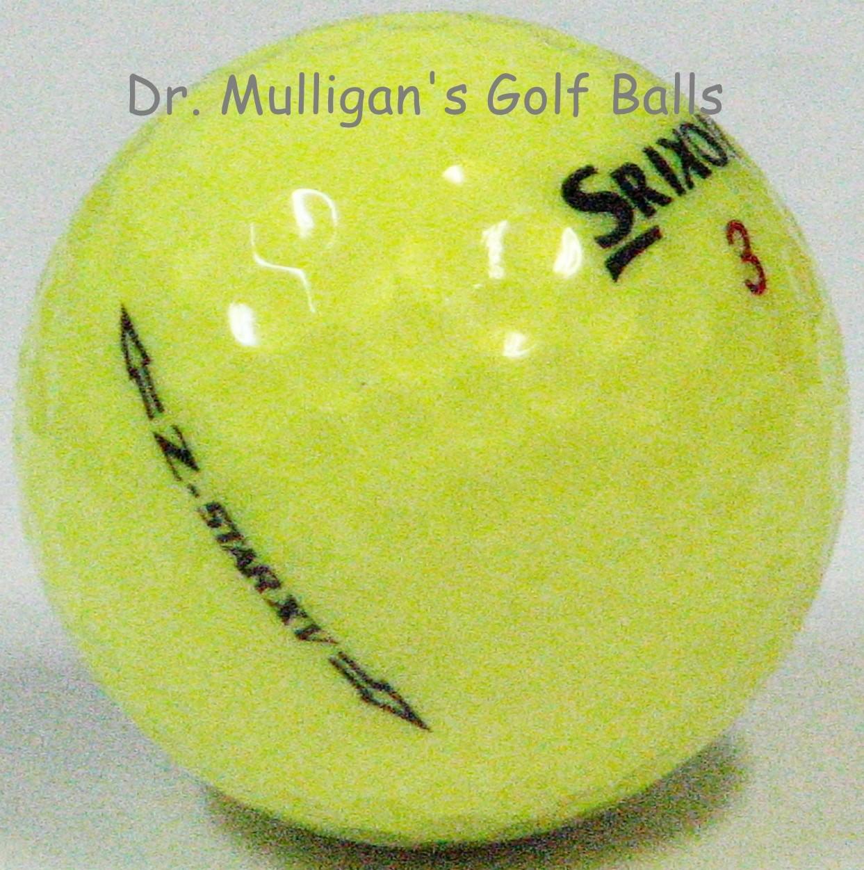 Srixon Z Star XV Yellow Mint
