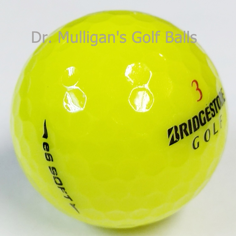 Bridgestone e6 Soft Yellow Mint