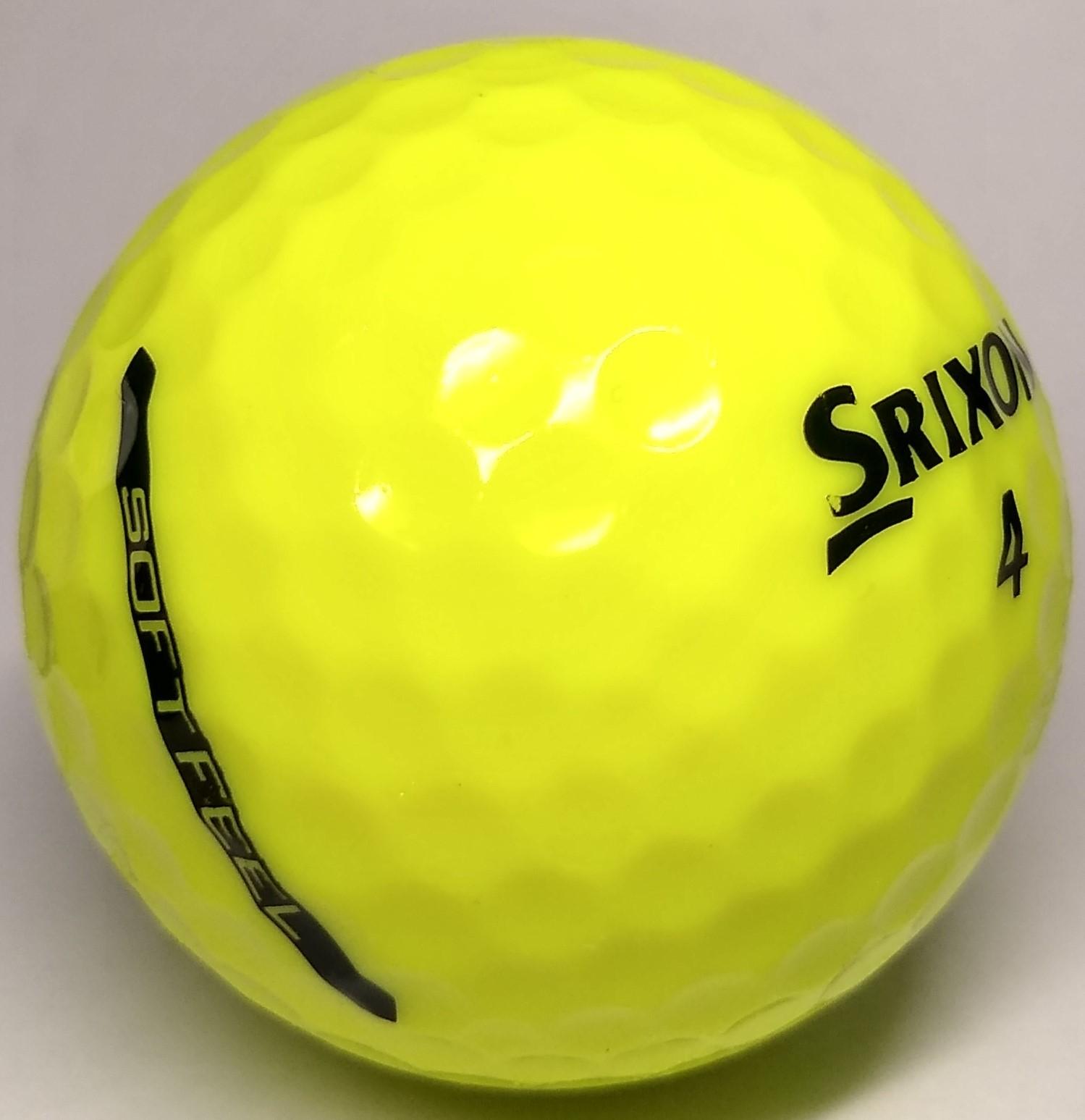 Srixon Soft Feel Yellow Mint