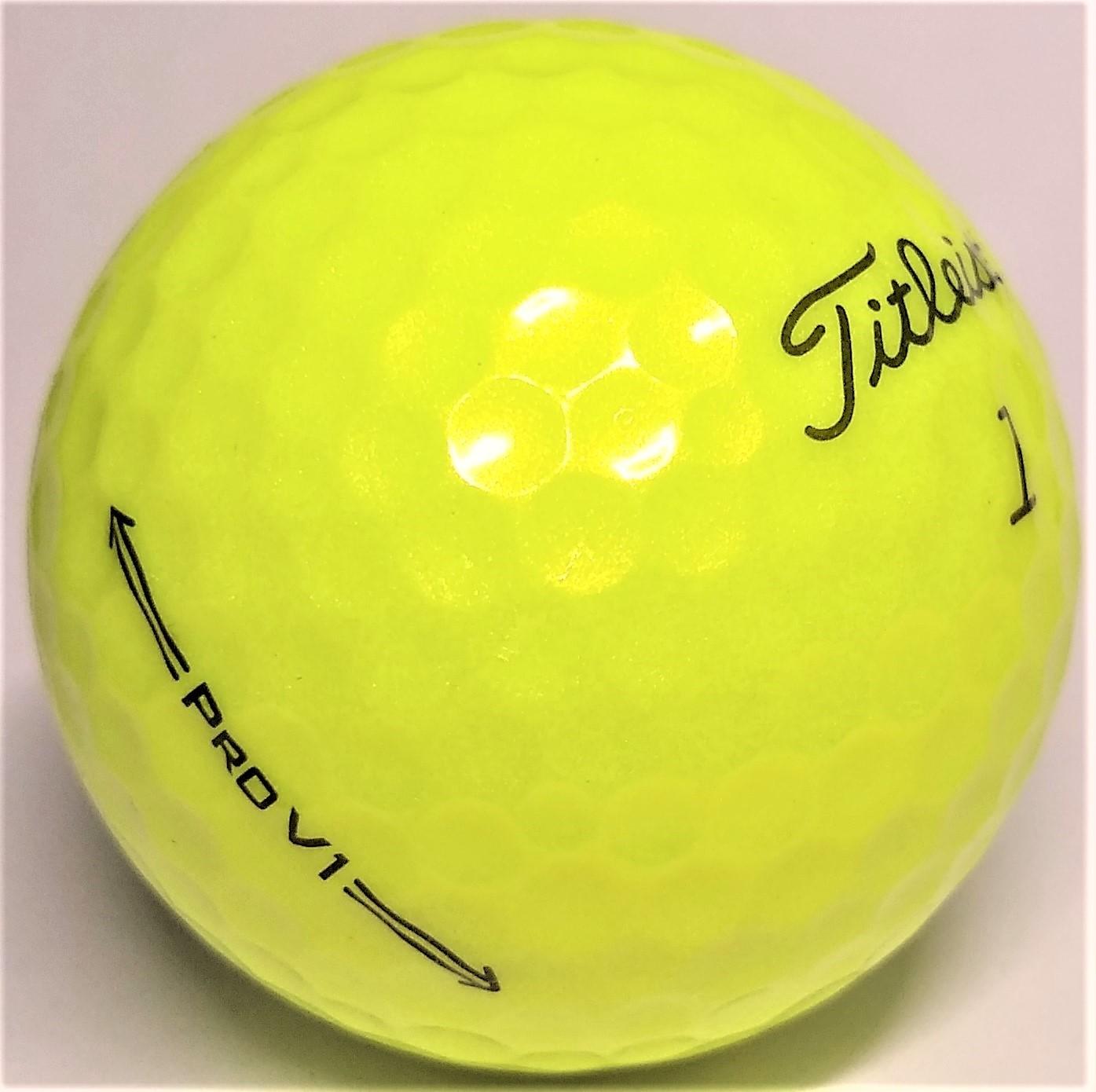 Titleist Pro V1 2021 Yellow Mint