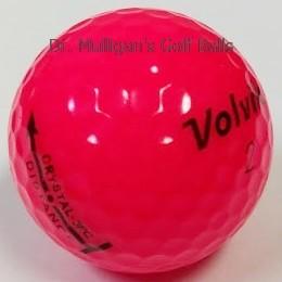 Volvik Crystal 3 Piece Red Mint