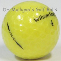 Wilson Staff Duo Yellow Mint