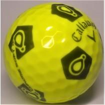 Callaway Chrome Soft TruVis Play Yellow Mint