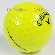 Callaway Chrome Soft X Yellow Mint