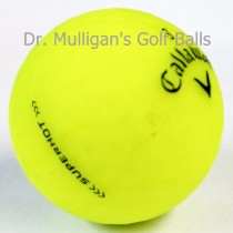 Callaway Superhot Matte Yellow Mint