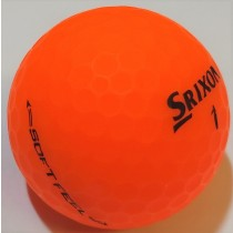 Srixon Soft Feel Brite Orange Matte Mint