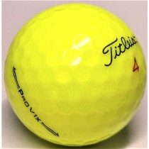 Titleist Pro V1X 2021 Yellow Mint