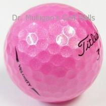 Titleist Velocity Pink Mint